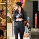 Megan Fox in Tights – Leaving Pilates in Los Angeles - 454 x 681