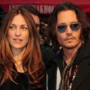 Johnny Depp and Robin Baum