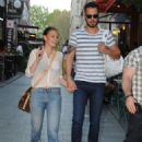 Asli Enver & Murat Boz :  out and about (August 06, 2016)