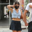 Kaia Gerber out with Jacob Elordi in NYC