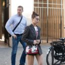 Bella Hadid in Shorts – Out and about in Paris