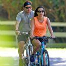 Lea Michele – Bike Riding in The Hamptons - 454 x 601