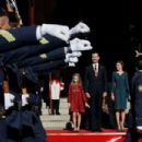 Spanish Royals Attend the 12th Legislative Sessions Opening - 454 x 303