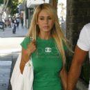 Shauna Sand With Her New Boyfriend In Beverly Hills 2007-09-14