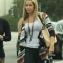 Ashley Tisdale was spotted shopping with Hilary and Haylie Duff this past Sunday, September 25, in Los Angeles - 313 x 600