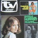Isabelle Huppert - TV Jour Magazine Cover [France] (4 July 1979)