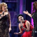 Jenni Rivera perform onstage during the 9th annual Latin GRAMMY awards held at the Toyota Center on November 13, 2008 in Houston, Texas