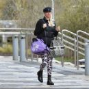 Denise Van Outen – Leaving Dancing on Ice rehearsals in Essex - 454 x 446