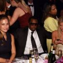 "May Anderson sits with Bar Refaeli  and Sean ""Diddy"" Combs at the ""Angel Ball"" in NYC, 2007"