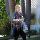 Kristen Bell In Leggings Out & About In Los Angeles, May 11 2010