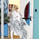 Christina Aguilera – Out in Los Angeles - 454 x 554
