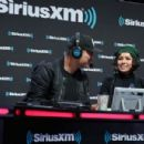 Kat Graham attends SiriusXM at Super Bowl LIII Radio Row on January 31, 2019 in Atlanta, Georgia