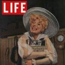 CAROL CHANNING ON THE FRONT OF ''LIFE'' MAGAZINE
