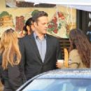 Vince Vaughn is spotted on the set of the hit HBO series 'True Detective' filming in Los Angeles, California on January 30, 2015 - 454 x 326