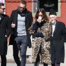 Alexa Chung & Alexander Skarsgard Out And About In NYC ( March 23, 2017) - 419 x 600