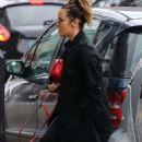 Caroline Flack – Heading to the gym in London - 454 x 749
