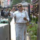 Kelly Brook in Summer Skirt – Leaving Global Radio Studios in London
