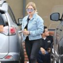 Ashley Benson with friends out in Hollywood