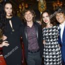 L'Wren Scott and Mick Jagger host private dinner at the Cafe Royal Hotel to celebrate the L'Wren Scott Fall/Winter 2013 Collection - London, UK - 17 February 2013 - 454 x 308