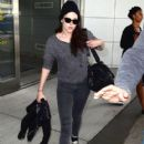 Kristen Stewart Arriving On A Flight In New York City May 30, 2012