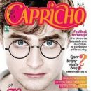 Daniel Radcliffe, Harry Potter and the Deathly Hallows: Part 2 - Capricho Magazine Cover [Brazil] (7 November 2010)