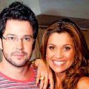 Murilo Benício and Flávia Alessandra
