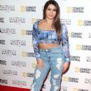 Claudia Frangapane – Comedy Central Friends Festive Exhibition Launch in London