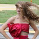 Gigi Hadid on Photoshoot in Rio de Janeiro