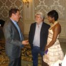 George Lucas and Mellody Hobson - 454 x 340