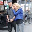 Jenny McCarthy Doing A Photoshoot In Nyc