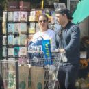 Lea Michele –  Shopping at Whole Foods in Los Angeles - 454 x 681