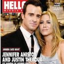 Jennifer Aniston, Justin Theroux - Hello! Magazine Cover [United Arab Emirates] (21 January 2016)
