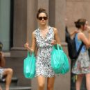 Emmy Rossum - Out In The East Village - August 11, 2010