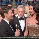 Ryan Seacrest, Michael Douglas and Catherine Zeta- Jones At The 85th Annual Academy Awards - Arrivals (2013) - 454 x 255