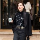 Camilla Belle – Leaving the Ralph Lauren Show in NYC - 454 x 570