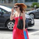 Alyson Hannigan: went to the hair removal and tattoo removal in LA