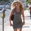 Ashley Roberts - Leaving The Ken Paves Hair Salon, Los Angeles, CA, July 19, 2010