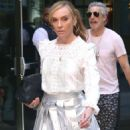 Toni Collette out in New York
