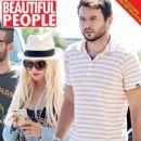 Christina Aguilera and Matthew D. rutler - 449 x 603