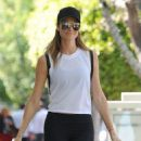Stacy Keibler is spotted out shopping in West Hollywood, California on March 27, 2017 - 454 x 595