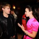 Lily Collins and Chord Overstreet - 454 x 379