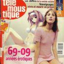 Jane Birkin - Tele Moustique Magazine Cover [Belgium] (August 2009)