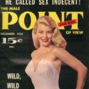 Dawn Oney - Male Point Magazine Cover [United States] (December 1955)