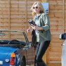 Kate Moss Heads To Lunch In La
