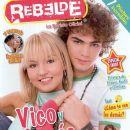 Angelique Boyer, Jack Duarte, Rebelde - rebelde Magazine Cover [Mexico] (August 2005)
