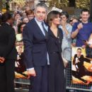 Rowan Atkinson and Sunetra Sastry - 401 x 621