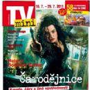 Helena Bonham Carter - TV Mini Magazine Cover [Czech Republic] (16 July 2011)