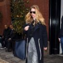Doutzen Kroes – Leaves the Mercer hotel in New York - 454 x 725