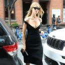 Rosie Huntington-Whiteley – Leaving her hotel in NYC