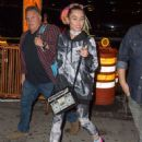 Miley Cyrus Going to party at Soho House in New York September 29,2015